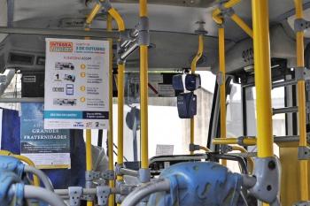 Validação dos cartões de passagem dos ônibus de Vitória começa no mês que vem