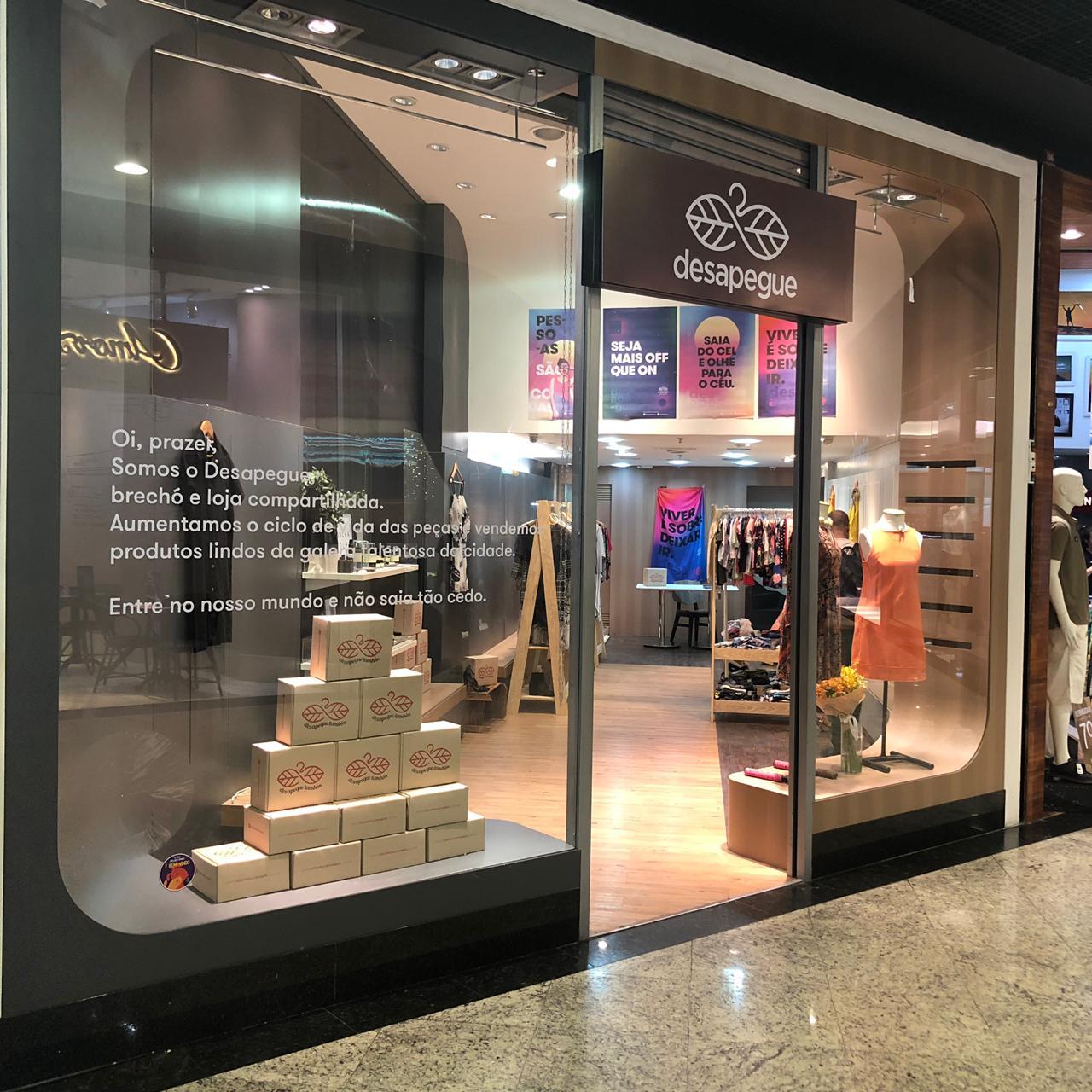 """Moda Consciente: """"Desapegue"""" inaugura loja no Shopping Praia da Costa"""