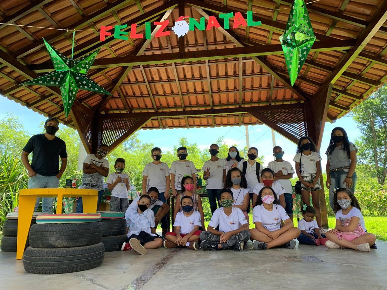 Natal: Marca Ambiental realiza piquenique para alunos de projeto social