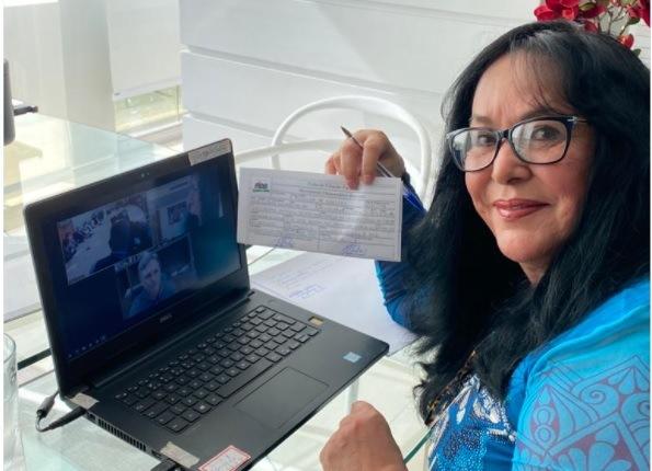 Senadora Rose de Freitas volta ao MDB e fortalece partido no Espírito Santo