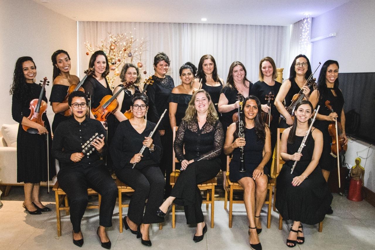 Orquestra de mulheres do ES