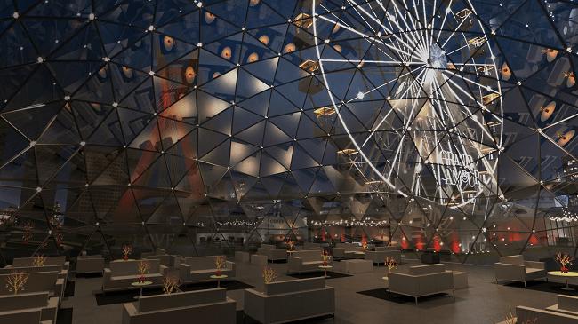 Grand Amour: jantar em roda gigante celebra retomada de São Paulo